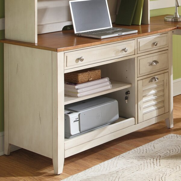Bridgeview Credenza Desk by Beachcrest Home