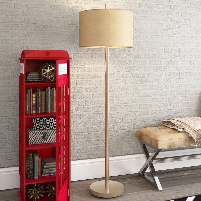 "Parry Boulevard Alkmene 61"" Floor Lamp & Reviews"