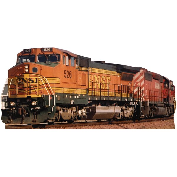 BNSF Train 526 Cardboard Stand-Up by Advanced Graphics