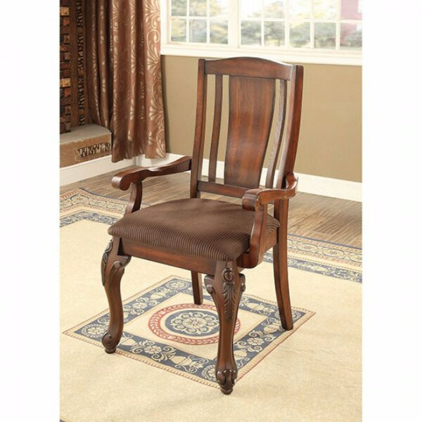 Damiansville Traditional Solid Wood Dining Chair (Set of 2) by Fleur De Lis Living