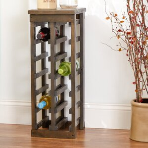Zanuck 12 Bottle Floor Wine Bottle Rack by Loon Peak