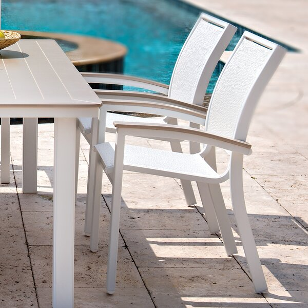 Bazza Stacking Patio Dining Chair by Telescope Casual