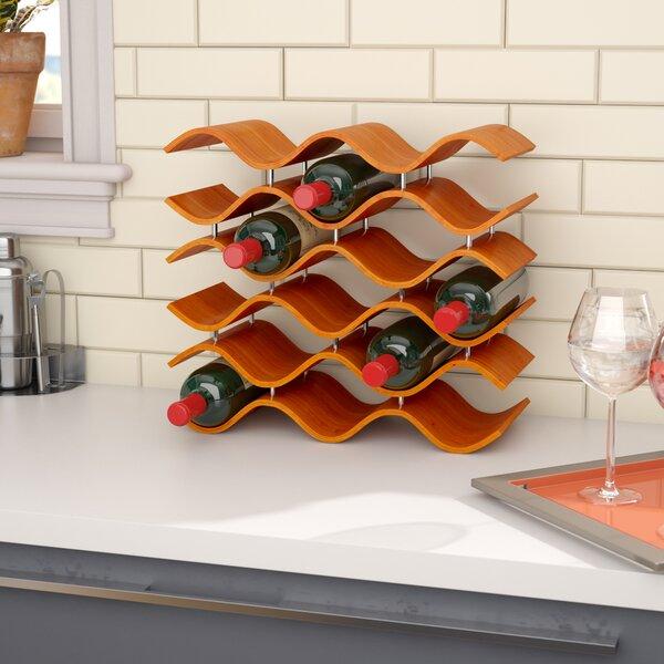 Helfrich 15 Bottle Tabletop Wine Rack by Wade Logan