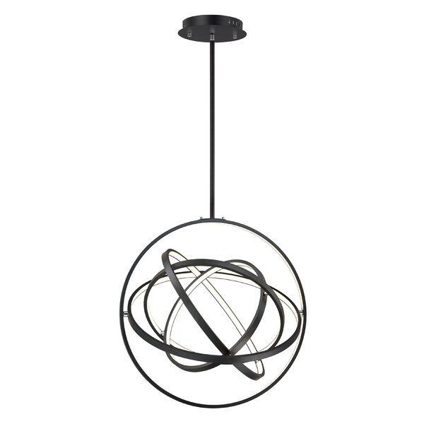 Ananke 5-Light LED Unique / Statement Globe Chandelier By Orren Ellis