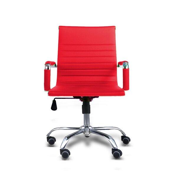 Terhune Mid Back Office Chair by Ebern Designs