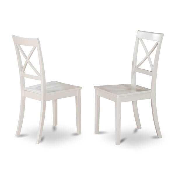 Hillhouse Solid Wood Dining Chair (Set of 2) by Red Barrel Studio
