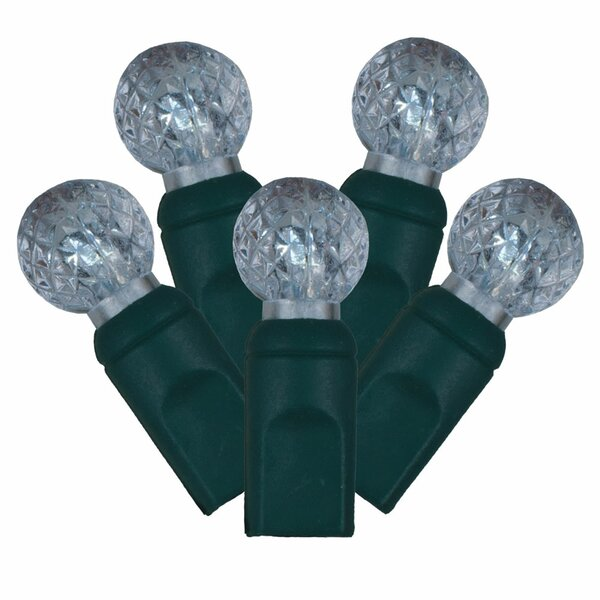 50 Commercial Grade Berry Christmas Light (Set of 50) by Vickerman
