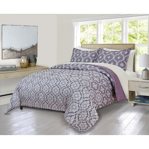 Louth Cartouche Comforter Set by House of Hampton