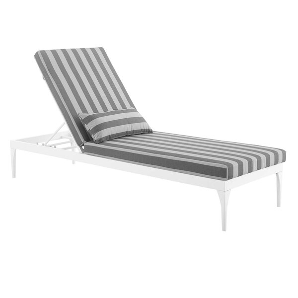 Una Patio Reclining Chaise Lounge