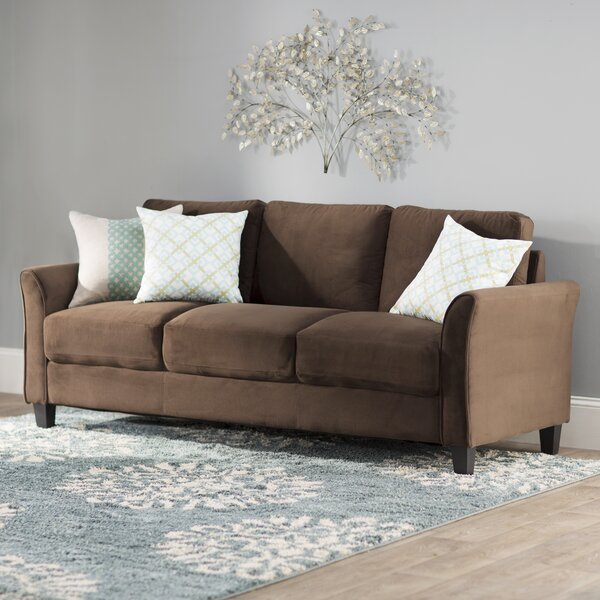 Patricia Curved Arm Sofa by Charlton Home