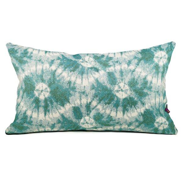 Shingleton Indoor / Outdoor Shibori Lumbar Pillow