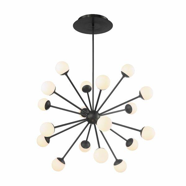 Pellston 24-Light LED Sputnik Chandelier by George Oliver