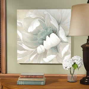 'Winter Blooms II' Print on Wrapped Canvas by Three Posts