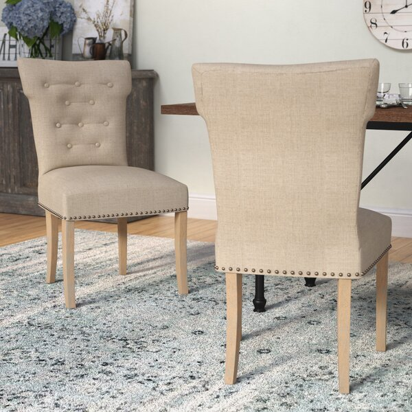 Schueller Upholstered Dining Chair (Set Of 2) By Laurel Foundry Modern Farmhouse