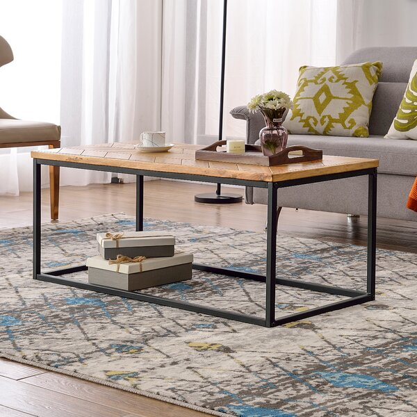 Smartt Frame Coffee Table by Millwood Pines Millwood Pines