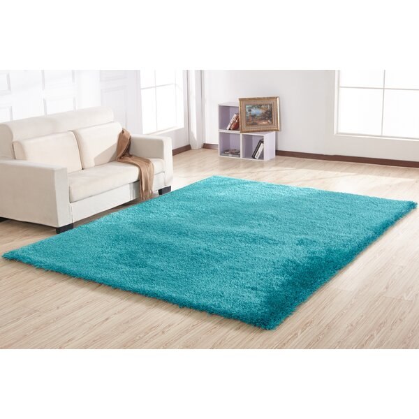 Bathford Hand Tufted Turquoise Area Rug by Harriet Bee