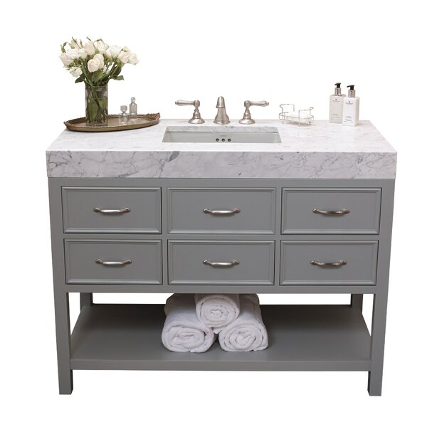 Newcastle 48 Single Bathroom Vanity by Ronbow