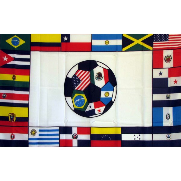 South American Soccer Club Polyester 3 x 5 ft. Flag by NeoPlex