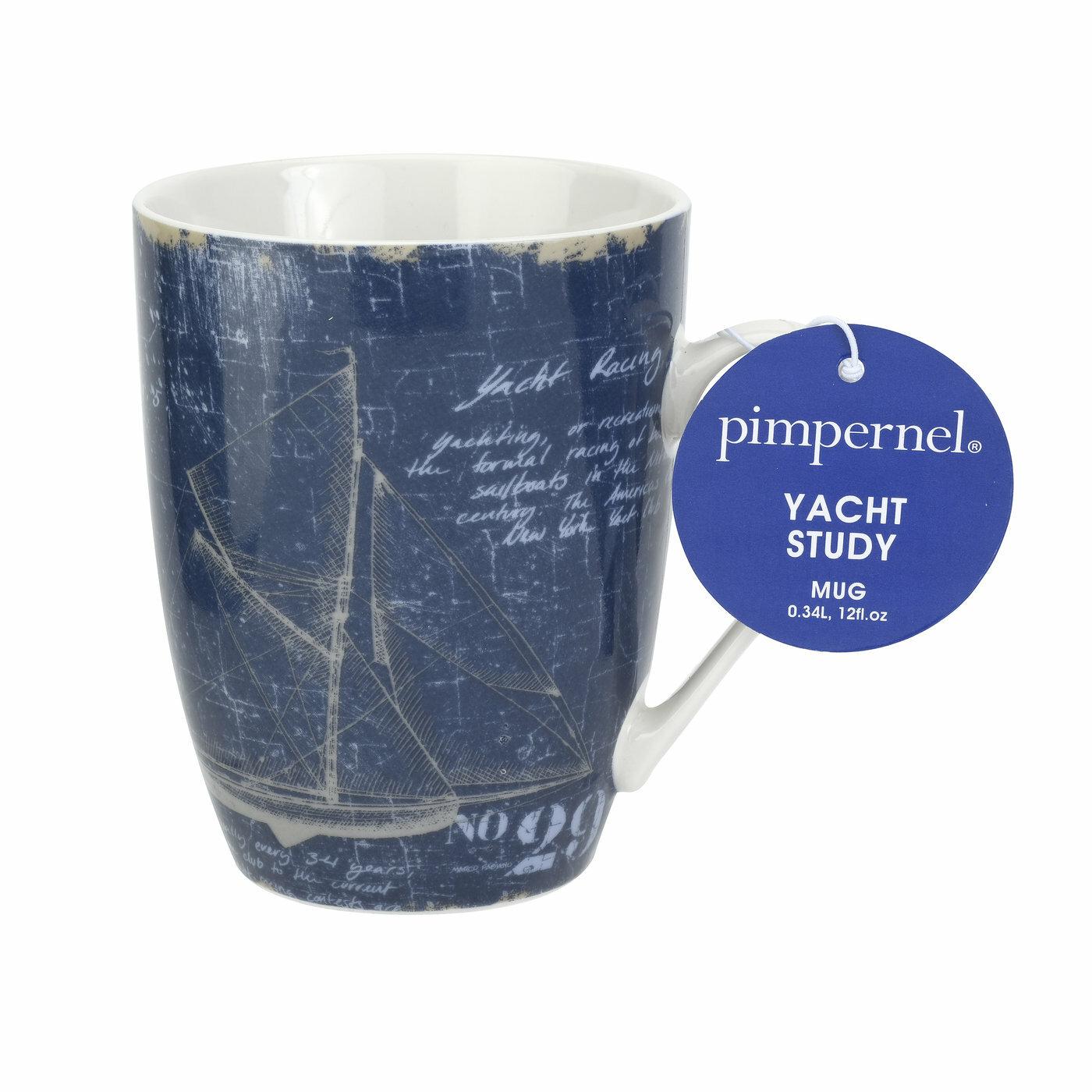 Pimpernel Yacht Study Coffee Mug Wayfair