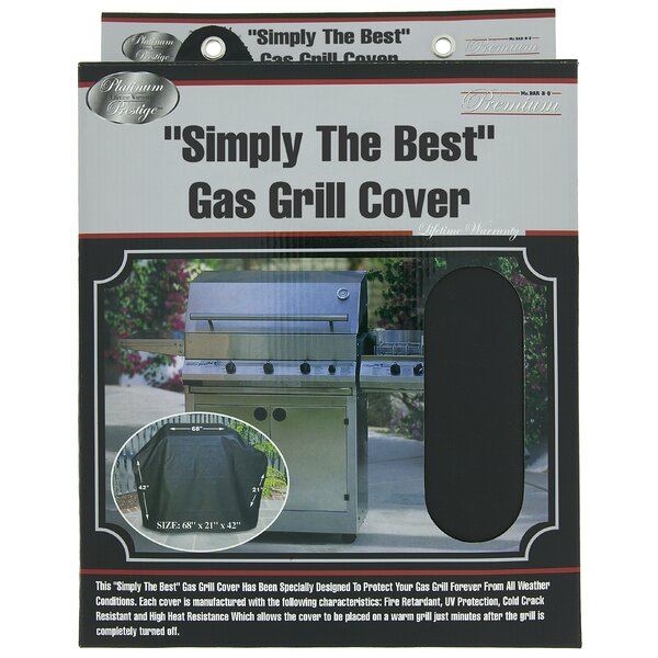 Platinum Prestige Large Grill Cover by Mr. Bar-B-Q