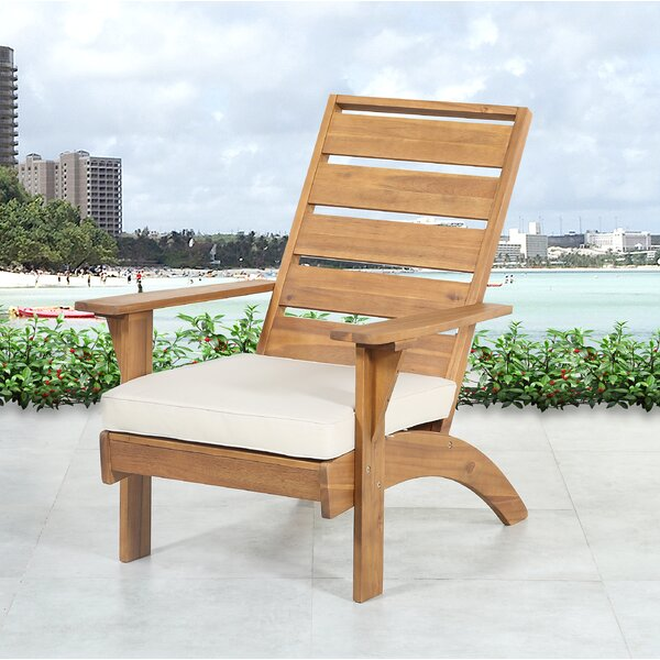 Belle Patio Chair with Cushions by Highland Dunes
