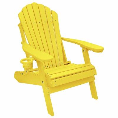Yellow Adirondack Chairs You Ll Love In 2020 Wayfair