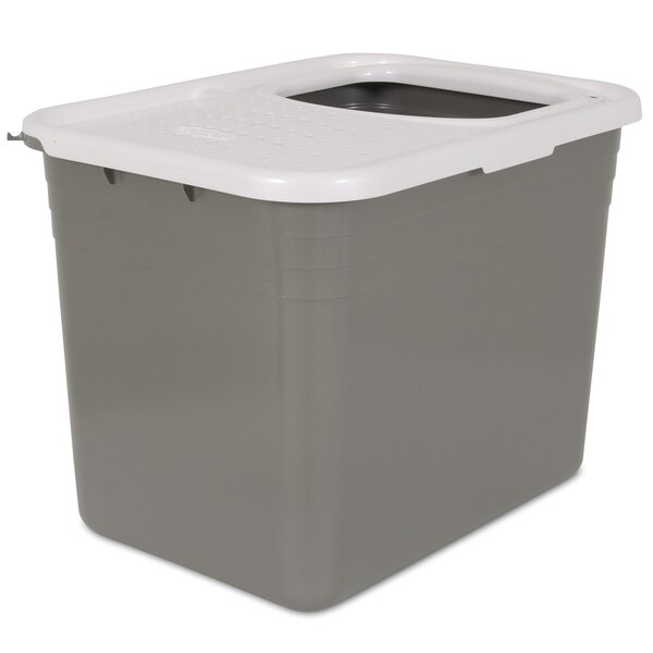 Top Entry Litter Pan by Petmate