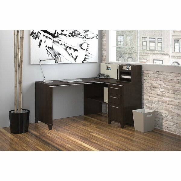 Enterprise Executive Desk with Hutch by Bush Business Furniture