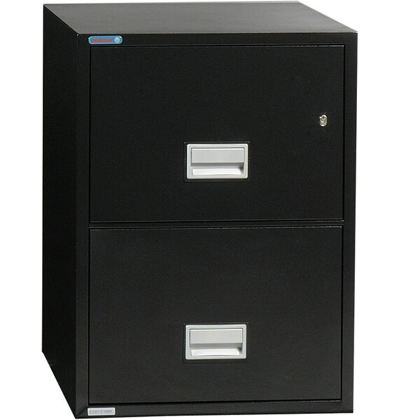 2-Drawer Vertical Filing Cabinet by Phoenix Safe International