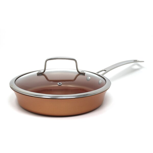 9.5 Non-Stick Frying Pan with Lid by Concord Cookw