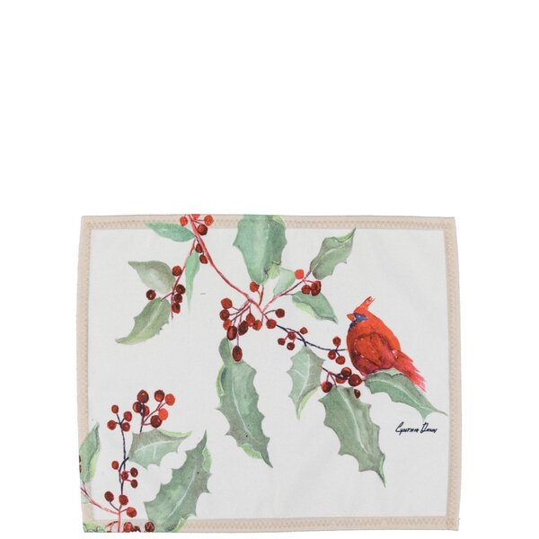 Cardinal 25 Placemat (Set of 4) by The Holiday Aisle