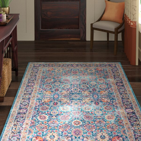 Coppola Blue Area Rug by World Menagerie