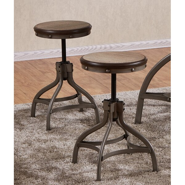 Adjustable Bar Stool (Set of 2) by Best Quality Furniture