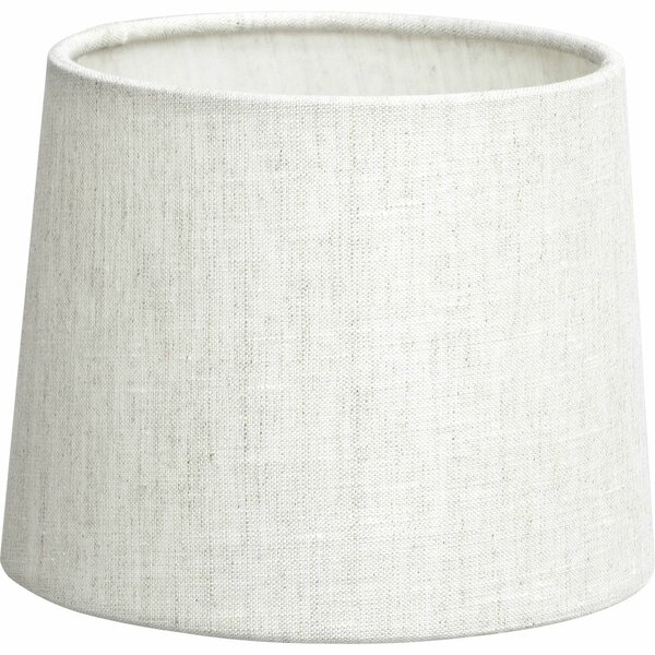 4.5 H Linen Empire Lamp shade ( Screw on ) in Vintage