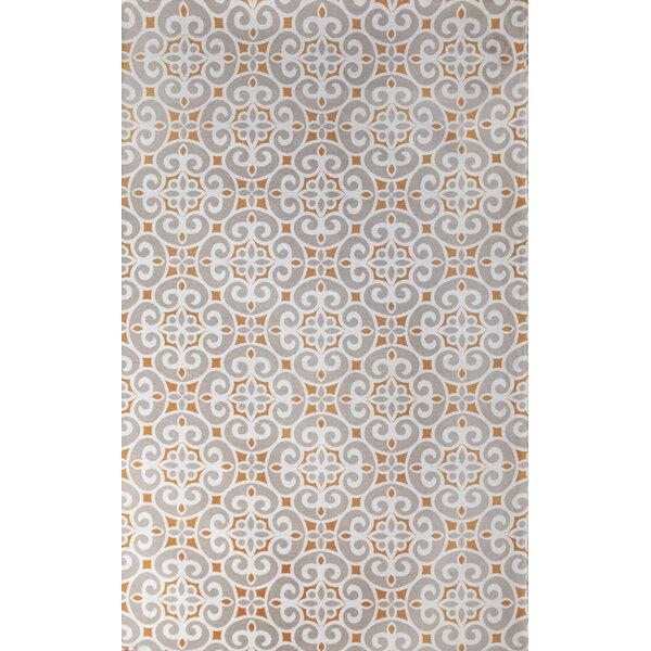 Kensington Hand-Woven Silver Indoor Area Rug by Tuft & Loom
