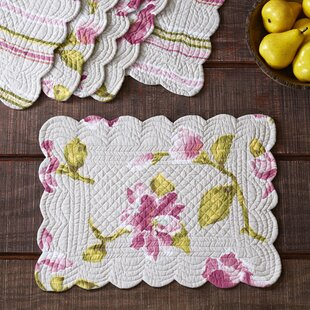 Armitage Quilted Placemats (Set Of 6)