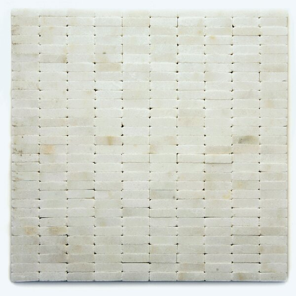 Post Modern Marble Mosaic Tile in Cassat by Solistone