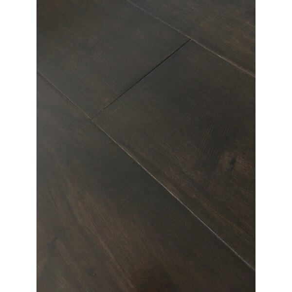 Rome 7.5 Engineered Maple Hardwood Flooring in Ash Gray by Dekorman