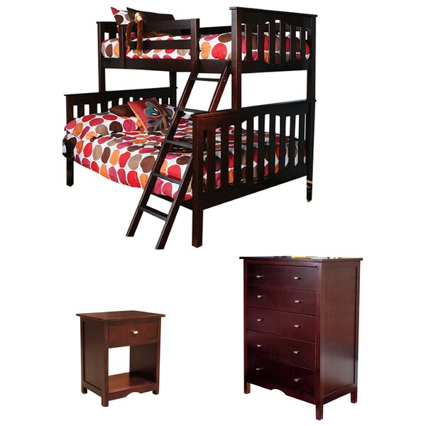 Seneca Twin Over Full Standard Bed Configurable Bedroom Set by Epoch Design