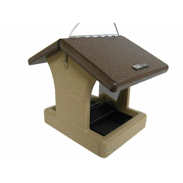 Recycled 1.5 Quarts 2 Sided Hopper Bird Feeder by Birds Choice