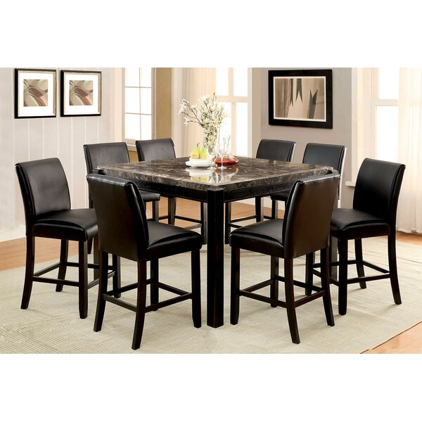 Bargain Hufnagel Counter Height Dining Table By Red Barrel Studio Best