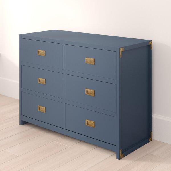Benbrook 6 Drawer Double Dresser by Greyleigh