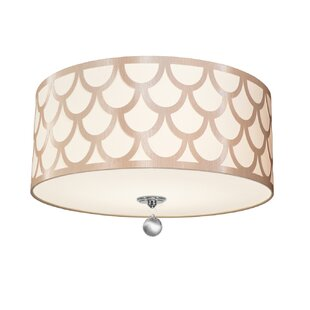 Piper 4-Light LED Intergrated Flush Mount By Rosdorf Park