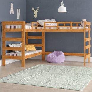 L Shaped Triple Bunk Bed Wayfair