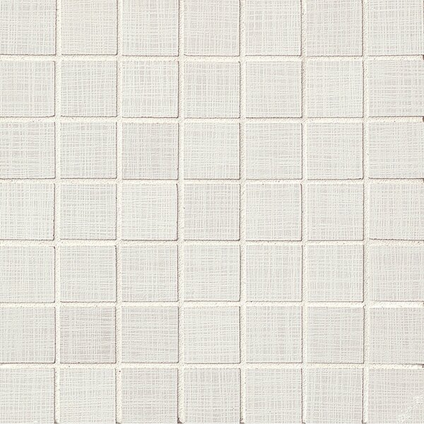1.5 x 1.5 Porcelain Mosaic Tile in Ivory Lappato by Grayson Martin