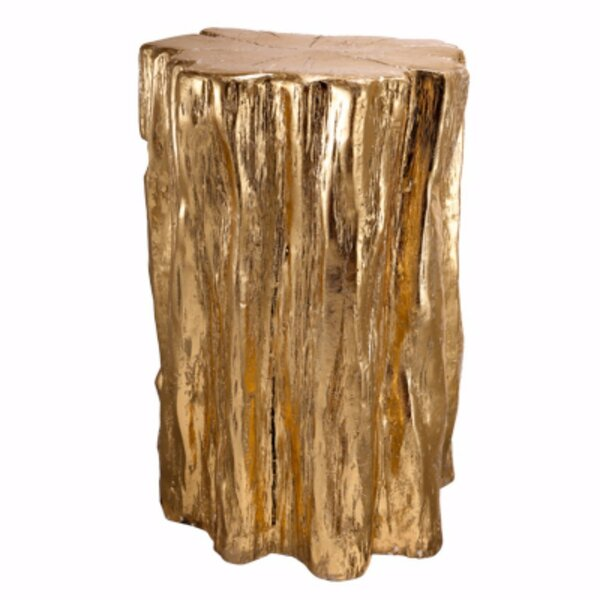 Grund Nature Inspired Tree Trunk Accent Stool by Wrought Studio