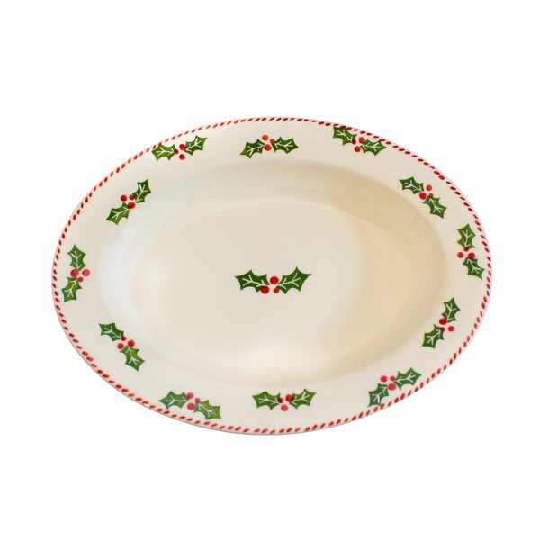 Large Oval Platter by The Holiday Aisle
