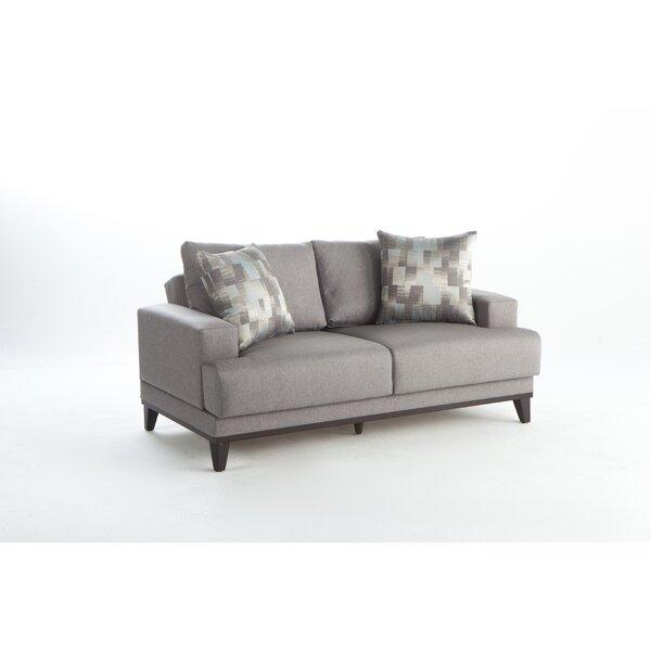 Alkire Sleeper Love Seat by Brayden Studio