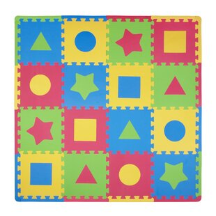 Affordable 16 Piece Tadpoles First Shapes Playmat Set By Tadpoles
