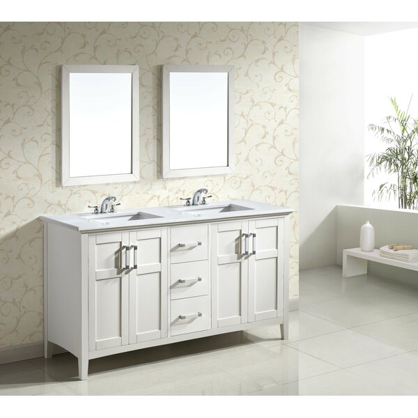 Winston 61 Double Bathroom Vanity by Simpli Home